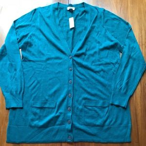 Old Navy Teal Cardigan